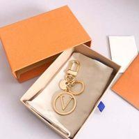 Мода Брелок Ключ Пряжки Письма Дизайн Ручной Кожаные Клазонные Брелки Мужчины Женщины Сумка Подвески 6 Опция Высокое качество