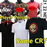 Ronaldo sama koszulka CR7 Manchester 21/22 Man Soccer Jerseys United Sancho Varane Utd Koszula piłkarska 2021 2022 Jersey Trening Polo