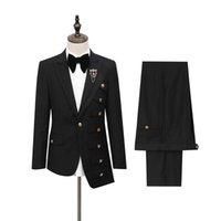 Men's Suits & Blazers Irregular Multi-pocket Clothing Fashion Original Suit Show Multi-layer Pocket Design Europe Size Vip Brand Men Set