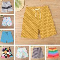 Designers Carta Homens Board Shorts Casual Calças de Esportes Swimwear Summer Beach Natação Troncos para Masculino