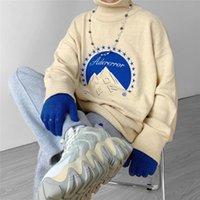 20FW Winter Turtleneck ADER Błąd Sweter Mężczyźni Kobieta Wysokiej Jakości Moda Casual Company Crewneck AderError Bluzy męskie Swetry