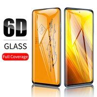 6d Full Cover Skärmskydd för Xiaomi Poco X3 MI8 9 SE MIX 3 2 A1 RedMi K30 Note 8 Pro 8T 7 6A Härdad glasfilm