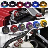 10 stücke M6 jdm auto modifiziert hex liquid platte frames fender waschmaschine bumper motor konkave schrauben fastener bolzen auto-styling