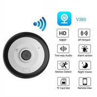 Cameras High Resolution 2 Megapixel Security CCTV WiFi IP Camera Indoor Wide Angle Fish Eye Infrared Video Surveillance 1080P