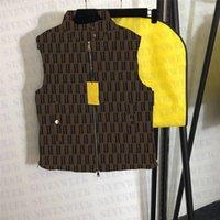 Gilet della giacca in pelle di pecora per uomini e donne di lusso Giacche di design in vera pelle di lusso Cappotti senza maniche di alta qualità con sacchetto di polvere