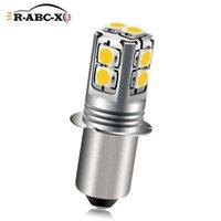 Lumières d'urgence Ruiandsion 1PCS E10 P13.5S PR2 3030SMD 6000K 4300K Bélis de remplacement de vélo 6V-40V 9V 12V 18V 24V 4D 6D 9D Torch 60