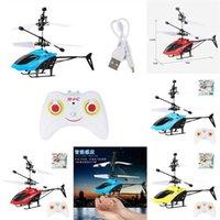 Neues athletisches Spiel Spielzeug Zappeln Fliegen Gyro Rotator Kinder UFO LED Rotary Fernbedienung Flugzeug Finger Spinner Route Mini Drohne Geschenk
