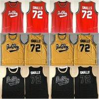 Biggie Smalls # 72 Bad Boy Notorious Big Movie Jersey Jersey Mens 100% cousu Basketball Jerseys bon marché Jaune rouge Black Mix Order