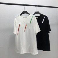20ss 남성 티셔츠 디자이너 편지 인쇄 크루 넥 캐주얼 여름 통기성 남성 여자 티셔츠 솔리드 컬러 탑스 티셔츠 T1D3 #