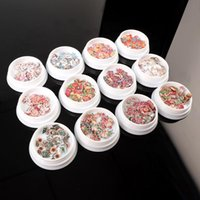 Nail Art Decorations 2021 Decals Design Winter Sliders For Nails Glitter Year Christmas Decoracion Uñas Supplies