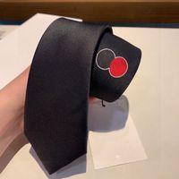 Мужские галстуки дизайн мода мужчины галстук шеи галстук два круг круга вышивка роскоши дизайнеры бизнес-умедь классическая шейка одежды Corbata Crevattino