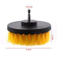 3pcs Power Scrubber Brush Kit For Bathroom Cleaning Drill Cordless Attachment Scrub Tubs Baseboards Scourer Car Washer