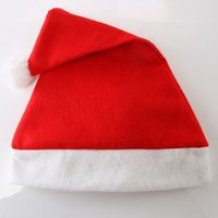 Red Santa Claus Hut Weihnachtsdekoration Cosplay Caps Erwachsene Kinder Weihnachten Party Hüte ZZA3329