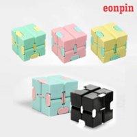 Eonpin AntiStress Infinite Cube Infinity Cube Magic Cube Office Flip Cubic Puzzle Стресс Редивер Аутизм Игрушки Отдохнуть Игрушка для взрослых