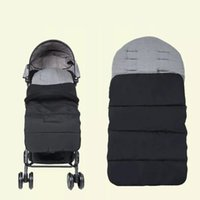 Stroller Parts & Accessories Modren Warm Universal Baby Solid Brushed Toddler Footmuff Portable Travel Infant Carriage Sleeping Bag 1pcs