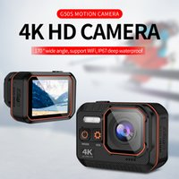 Camcorders Ultra HD 4K Sport Camera Remote Control 2inch Screen Action 1080P 120fps 60 Fps Waterproof Helmet Go Pro Hero 5 Cam