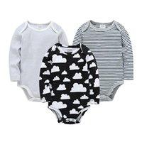 Rompers Autumn Born Baby Boy Clothing Long Sleeve Bodysuits Cotton Boys Girls Clothes Bodysuit Cartoon Infant Jumpsuits