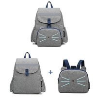 Diaper Bags Double Shoulder Mommy Bag Waterproof Detachable Traction Thermal Insulation Baby Bottle Parent-child Large Capacity