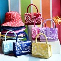 Bags Matching Bucket Hats and Ladies Simple Crossbody Bag Chain Shoulder Mini Woman Handbags 0E8I