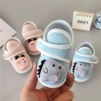 First Walkers Baby Shoes Men And Women Soft Soled Toddler 0-1 Year Old Born Single Cloth Girl