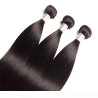Indian brut vierge humain cheveux 9a mink paquets avec une fermeture de dentelle de 6x2 avec des cheveux de cheveux de bébé cheveux rafteurs avec fermeture Yirubeauty