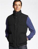Мужская гусиная зимняя жилет куртка мужская Homme Freestyle Vest Gilet Down Vest Down Куртка Jassen Expedition Parka Верхняя одежда