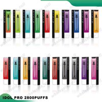 Original Hzko Idol Pro Disposible E Cigarrillos Dispositivo POD 2800 Puffs 1500mAh Batería 9ML Cartucho precargado Vape Pen vs XXL MAX
