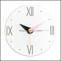 Wall Décor & Gardenwall Clocks Vintage Hanging Clock Digital Wood Big Kitchen Nordic Modern Design Watch Home Kids Living Room Zegar Industr