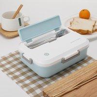 Caixa de lancheira criativa design para crianças portáteis bento caixas de isolamento térmico recipiente de alimentos de alimentos organizador de lancheira