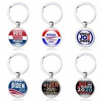 Fashion Art creativo Joe Biden Key Catena chiave American Election Campaign Accessori Decorazione dell'artigianato in metallo