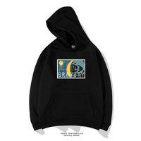 Hip Hop Graffiti Astronaut Hoodies Mens 2020 Autumn Casual Pullover Sweats Hoodie Male Fashion Skateboards Sweatshirts
