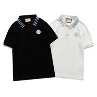 Mens Designer Polo T Shirts Marke Trend Kleidung Frauen Luxus Designer Baumwolle Kleidung Mode Casual Revers Hemd Kurzarm