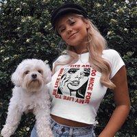 FitShinling Harajuku Komik T Gömlek Kadın Streetwear Pamuk Yüksek Kalite Beyaz Kadın T Gömlek 2020 Seksi Ince Tee Gömlek Femme Satış T Tasarım Templa 97ek #