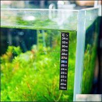 Инструменты для анализа измерений Офисная школа Бизнес промышленные аквариумные рыбы танк термометр наклейка рептилия температурный датчик digita