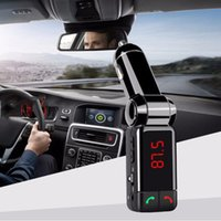 Neueste Universal Car Bluetooth Kit FM Wireless Audio Receiver Sender MP3 Player Hände Freies USB-Ladegerät Modulator-Sendung