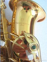 Brand New Yanagisawa A-992 Alto Saxophone Gold Musical Instruments Professional Sax With Mouthpiece Case and Accessories