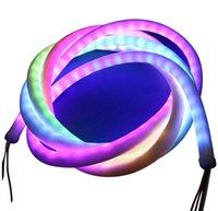 3.3FT Адресментируемый RGB-смена светодиода Neon Pixel Light, DC 5V водонепроницаемый гибкий SMD WS2811 60 единиц светодиодной веревки