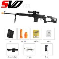 Barn Manuell Toy Gun Svd Water Gel Blaster Paintball Airsoft Värme Rifle Guns Shotgun Pistol Silah Armas för pojkar Vuxna CS GO