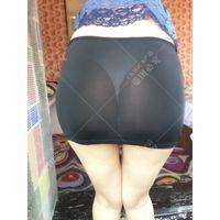Skirts S M L Sexy Thin Ice Silk Transparent Micro Mini Kawaii Sheer Tulle Skirt Wetlook Package Hip Black Clubwear Faldas