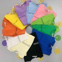 Sweats à capuche Sweatshirts Sweatshirts Créwneck pour hommes 100% coton Protection de l'environnement Colorant Tops à manches longues Spring Baggy Casual Streetwear Lij5