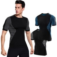 Men's Body Shapers Fashion Men Slimming Tops Tummy Shaper T Shirt Bodybuilding Compression Fat Burning Chest Corset