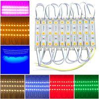 LED-Modul SMD 5054 3 LEDs DC12V Wasserdichte Werbung Design Module Hintergrundbeleuchtung weiße Farbe super helle Beleuchtung