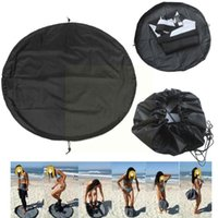 Pool & Accessories Waterproof Beach Bag Pouch Black Carry Pack Surfing Wetsuit Swimming Sports Diving Suit Storage Mat Polyester B Z9Z2