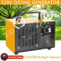 36g h Ozone Generator Ozonator Machine Air Cleaner Ozonizer Remove Peculiar Smell With Timer 220V Ozono Purifiers