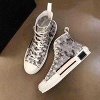 Dior b23 shoes Детская обувь Мода Высокие Кроссовки С Дизайн Классические Кослые Печать Логотипы Мужчины Женщины Пара Модели Размер 35-45