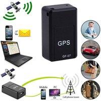 Car GPS Trackers GF-07 Alarm Mini Long Standby Magnetic SOS Tracker Locator Device Voice Recorder Handheld Portable