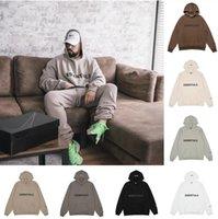 2021 ESS FOG Essentiels Equipements épais épais Sweatshirts Sweetwear Pull à capuche essentielle Sweat à manches longues Poche à capuche à capuche réfléchissant
