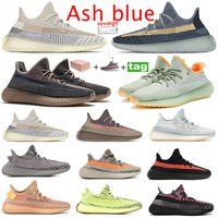 riflettente Yeshaya Yecheil Yeezreel Kanye delle donne degli uomini Scarpe Citrin Nuvola Bianco Nero Statico Argilla Glow Designer Sneakers Trainers