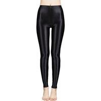 Yeni Saten Parlak Külotlu Çorap Seksi Çoraplar Parlak Yoga Pantolon Tayt Spor Tayt Kadın Spor Yüksek Bel SıkıSsoccer Jersey