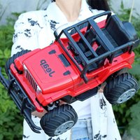 Elektrik / RC Carremote Control Şarj Kablosuz Yarış Çapraz Ülke Yüksek Hızlı Jeep Elektrikli 3-Yaşında 4 Yaşlı Çocuk Oyuncak Araba